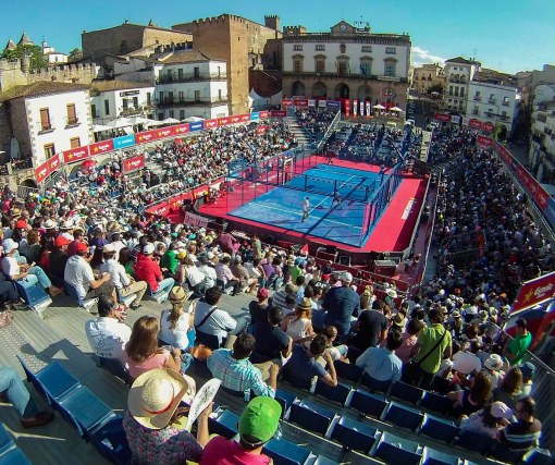 20130523 CACERES WORLD PADEL TOUR PLAZA MAYOR -FRANCIS VILLEGAS -