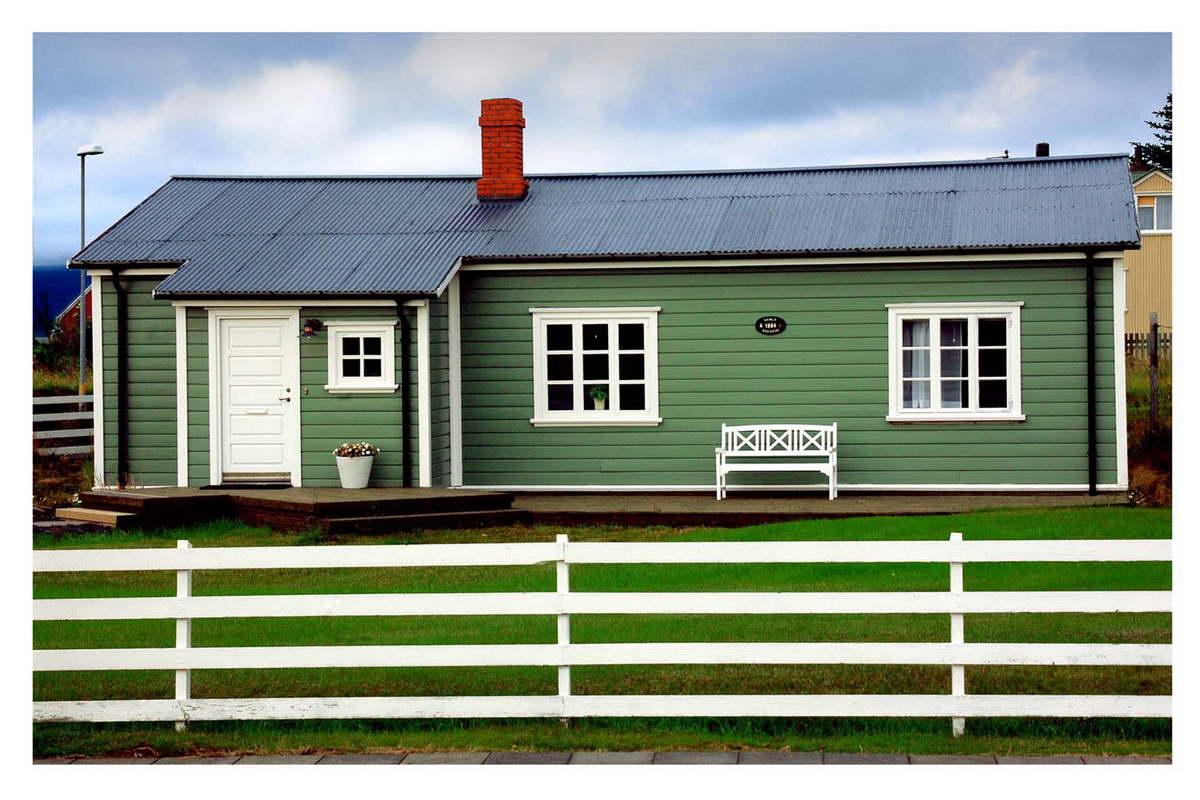 Foto doc rgc - Casas color verde ...